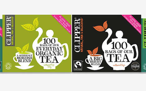Eco-Conscious Tea Packaging