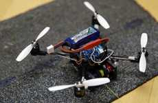 Powerful Tiny Drones - The FlyCroTug Drones Can Pull 40 Times Their Weight