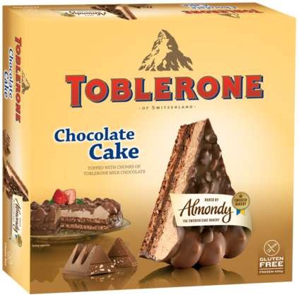Swiss Chocolate Bar Cakes - Almondy's Toblerone Cake is Filled with Layers of Chocolate