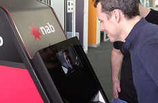 Facial Recognition ATMs - NAB's Banking Machine Removes the Need for a Physical Bank Card