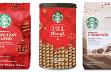 Caffeinated Holiday-Themed Beverages