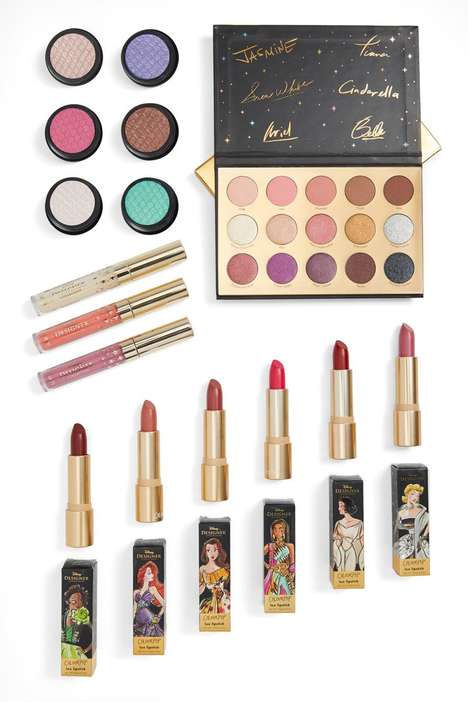 Modern Disney Princess Cosmetics - Colorpop's Designer Disney Collection Modernizes the Characters