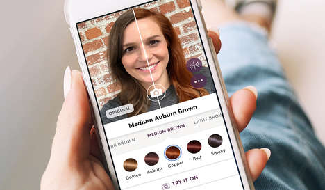Virtual Hair-Coloring Tools - Madison Reed Lets Consumers Try Over 40 Hair Colors in AR & Real-Time