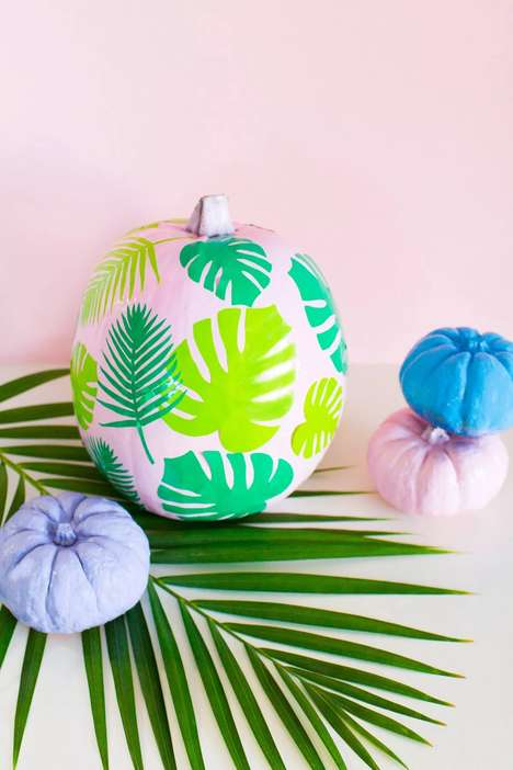 Tropical Pumpkin DIYs
