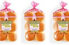 Cancer Awareness Bread Campaigns - Pink with a Purpose from the Klosterman Baking Co. is Supportive