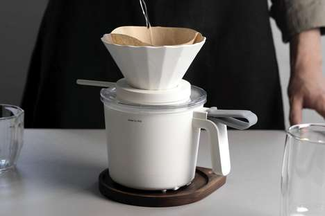 Ingredient-Measuring Coffee Makers