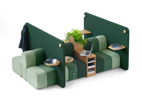 Contemporary Modular Office Furniture - Blå Station Designs the Perfect Piece for Dynamic Workspaces