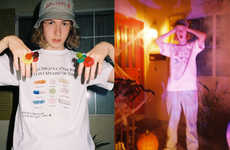 Spooky Seasonal Fashion Lookbooks - HOLIDAY Drops Its Streetwear Collection in Time for Halloween