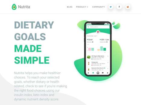 Nutritional Goal-Tracking Apps