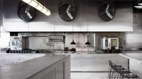Entirely Steel Interior Design
