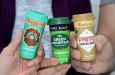 Mini Co-Branded Coffee Shots - The New Line of Forto Coffee Shots Boasts Tastes from Global Brands