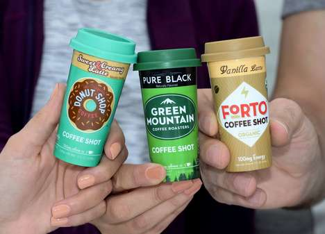 Mini Co-Branded Coffee Shots