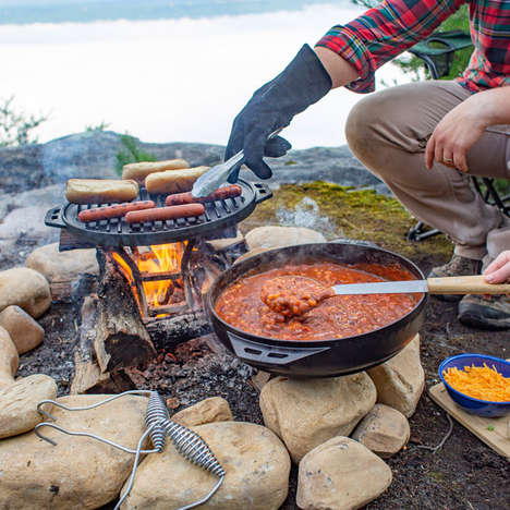 Five-in-One Cast-Iron Cookware