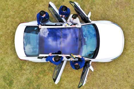 Solar Panel Vehicle Roofs
