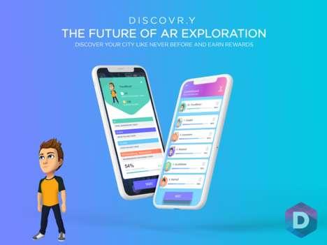 AR Urban Exploration Apps