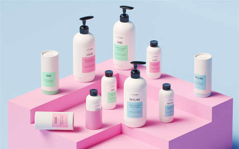 Strategic Hair Care Branding - J. Curl's Professional Hair Care Products Boast a Design-Driven Vibe