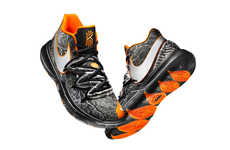 Reflective Camouflage Basketball Sneakers