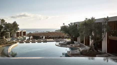 Landscape-Informed Coastal Hotels - The Calming Olea Hotel is Designed by Block722 Architects