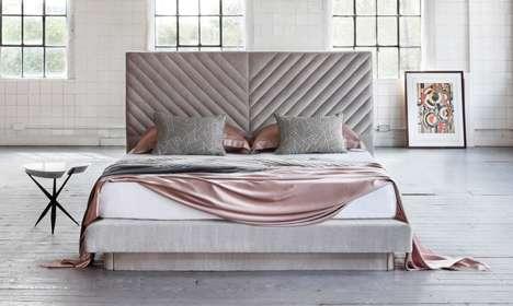 Artist-Inspired Luxury Beds