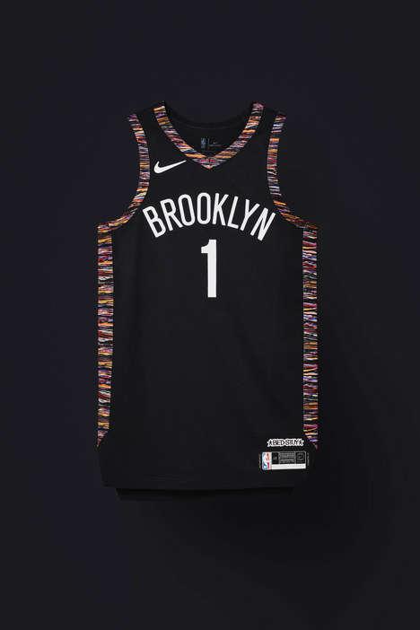 Hip Hop-Inspired Basketball Jerseys
