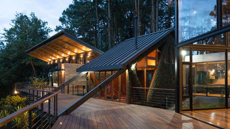 Elegantly Modern Forest Retreats