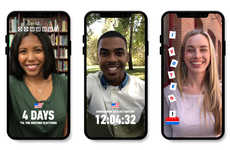Social Media Polling Features - The Election Day Snap Map Will Add Social Aspects to Voting