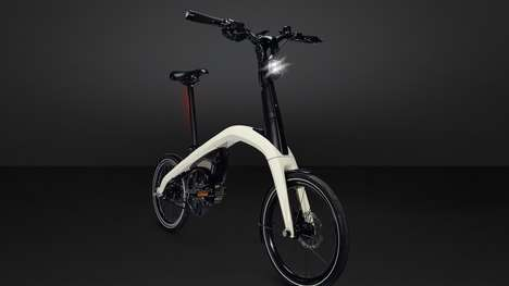Automobile-Inspired E-Bikes