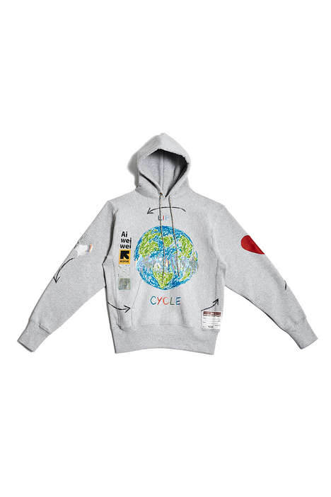 Charitable Artist Collaboration Hoodies