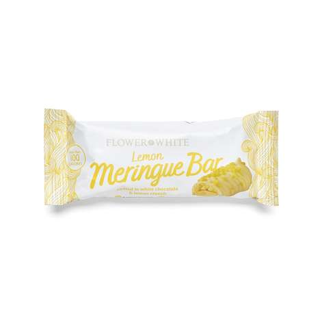 Low-Calorie Meringue Bars