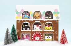 Candy-Filled Gingerbread Houses