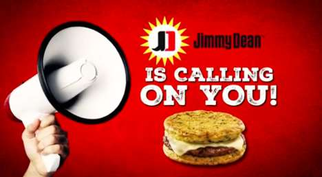 Breadless Egg Sandwiches - Jimmy Dean's New Egg'wiches are Made with Frittatas Instead of Buns