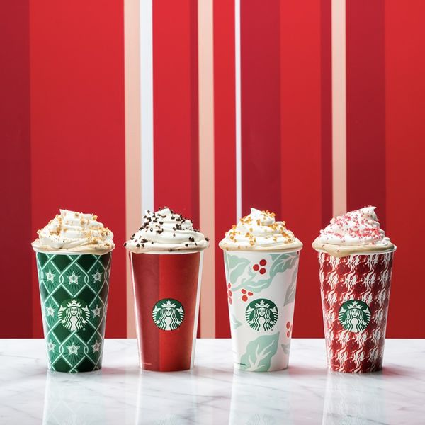 Festive Eco Takeaway Cups : starbucks holiday cups