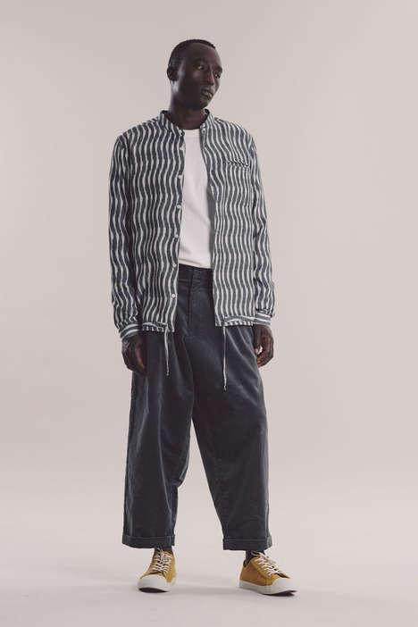 Subtly Structured Menswear