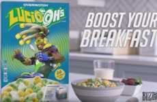 Video Game-Branded Cereals