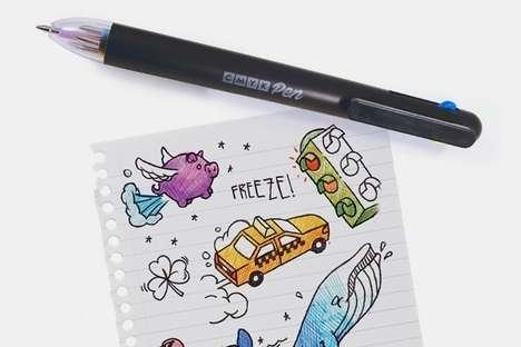 Multicolor Mixture Sketching Pens