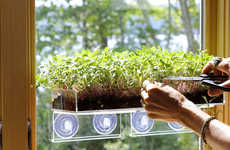 Mini Greens-Growing Gardens - The Window Garden Grow 'n Serve Microgreen Kit is Convenient