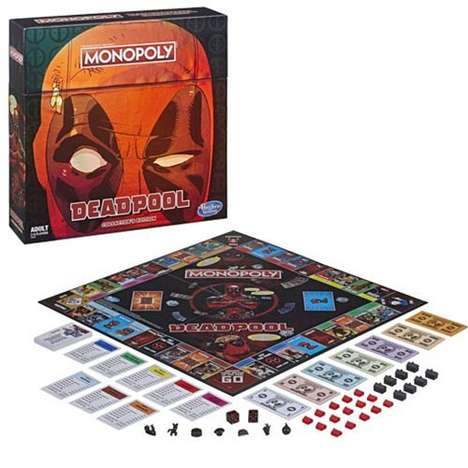 Specialized Superhero Board Games