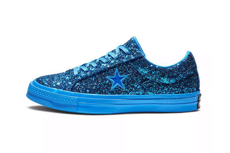 Glittery Cushioned Sneakers
