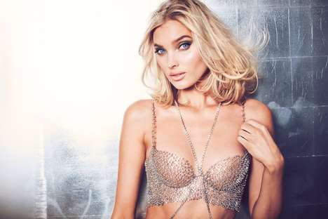 Bedazzled Diamond Bras - A $250 Version of the Victoria's Secret Fantasy Bra 2018 Can Be Purchased