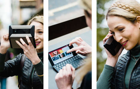 Three-in-One Communication Phones