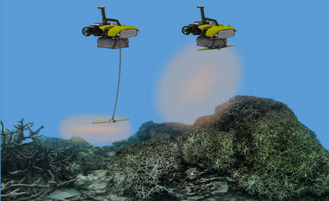 Coral Reef-Saving Robots - LarvalBot Will Help Spread Coral Spores at an Incredible Rate