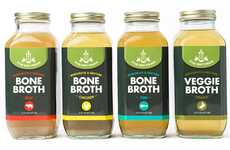Nutrient-Rich Refrigerated Bone Broths
