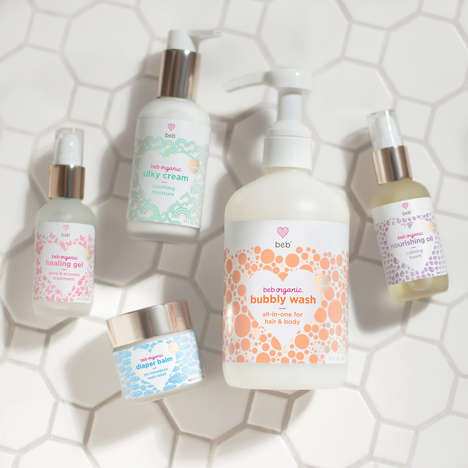 Preemie-Specific Skincare - BEB Organic Creates Gentle Skincare Solutions for Premature Babies