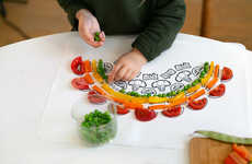 Playful Vegetable Placemats