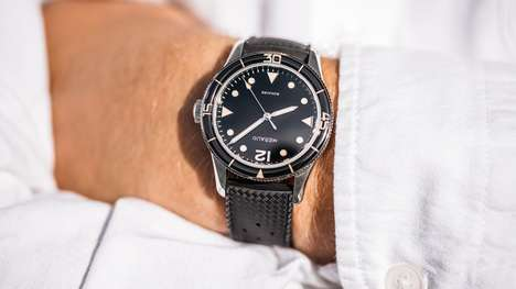 Vintage-Inspired Dive Watches