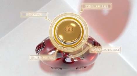 Connected Crystal Decanters - LOUIS XIII Cognac's 'Smart Decanter' Integrates NFC Technology
