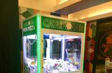 Pizza-Themed Claw Machines
