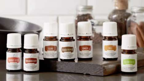 Nutritious Food-Flavoring Essential Oils