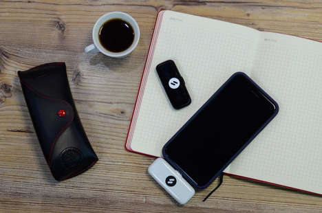 Tiny Portable Universal Chargers - Lightr's Strengths Lie in Its Charging Capacity & Tiny Silhouette
