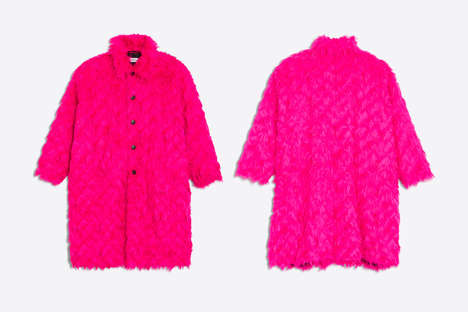 Luxurious Vibrant Padded Coats